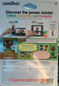 Amiibo: Animal Crossing: Tom Nook  Box Back 200px