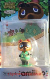 Amiibo: Animal Crossing: Tom Nook  Box Front 200px