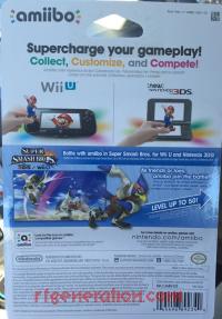 Amiibo: Super Smash Bros.: Falco  Box Back 200px