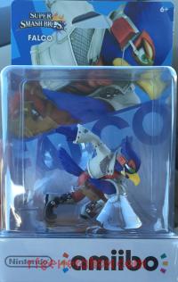 Amiibo: Super Smash Bros.: Falco  Box Front 200px