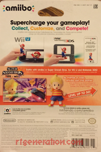 Amiibo: Super Smash Bros.: Lucas  Box Back 200px