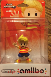 Amiibo: Super Smash Bros.: Lucas  Box Front 200px