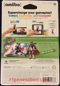 Amiibo: Super Smash Bros.: Roy  Box Back 200px