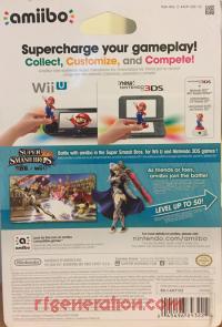 Amiibo: Super Smash Bros.: Corrin Player 2 Box Back 200px