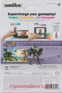 Amiibo: Super Smash Bros.: Bayonetta  Box Back 200px