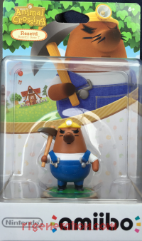 Amiibo: Animal Crossing: Resetti  Box Front 200px
