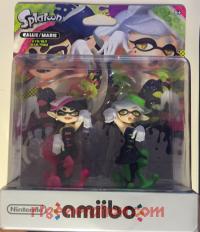 Amiibo: Splatoon Squid Sisters Pack  Box Front 200px