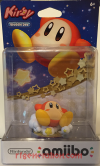 Amiibo: Kirby: Waddle Dee  Box Front 200px