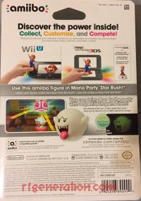 Amiibo: Super Mario Bros.: Boo  Box Back 200px