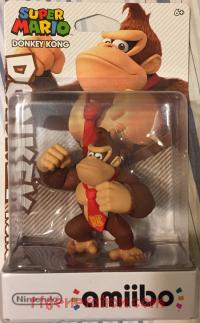 Amiibo: Super Mario Bros.: Donkey Kong  Box Front 200px