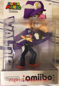 Amiibo: Super Mario Bros.: Waluigi  Box Front 200px