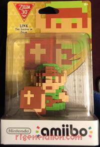 Amiibo: The Legend of Zelda: 8-Bit Link  Box Front 200px