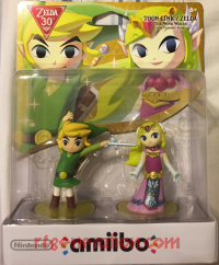Amiibo: The Legend of Zelda: The Wind Waker 2-Pack  Box Front 200px