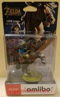 Amiibo: The Legend of Zelda: Breath of the Wild: Rider Link  Box Front 200px
