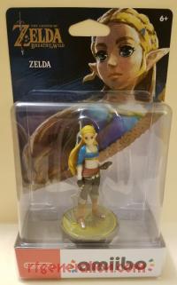 Amiibo: The Legend of Zelda: Breath of the Wild: Zelda  Box Front 200px