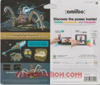Amiibo: The Legend of Zelda: Breath of the Wild: Guardian  Box Back 200px