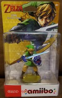 Amiibo: The Legend of Zelda: Skyward Sword Link  Box Front 200px