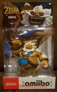 Amiibo: The Legend of Zelda: Breath of the Wild: Daruk  Box Front 200px