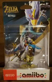 Amiibo: The Legend of Zelda: Breath of the Wild: Revali  Box Front 200px
