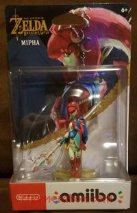 Amiibo: The Legend of Zelda: Breath of the Wild: Mipha  Box Front 200px