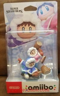 Amiibo: Super Smash Bros.: Ice Climbers  Box Front 200px