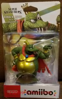 Amiibo: Super Smash Bros.: King K. Rool  Box Front 200px
