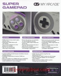 Super Gamepad  Box Back 200px