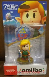 Amiibo: The Legend of Zelda: Link's Awakening: Link  Box Front 200px