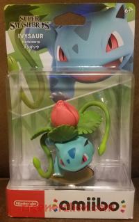 Amiibo: Super Smash Bros.: Ivysaur  Box Front 200px