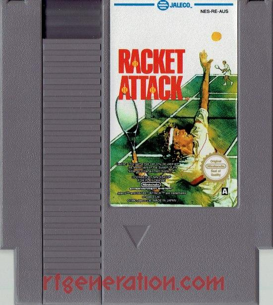 Racket Attack Game Scan