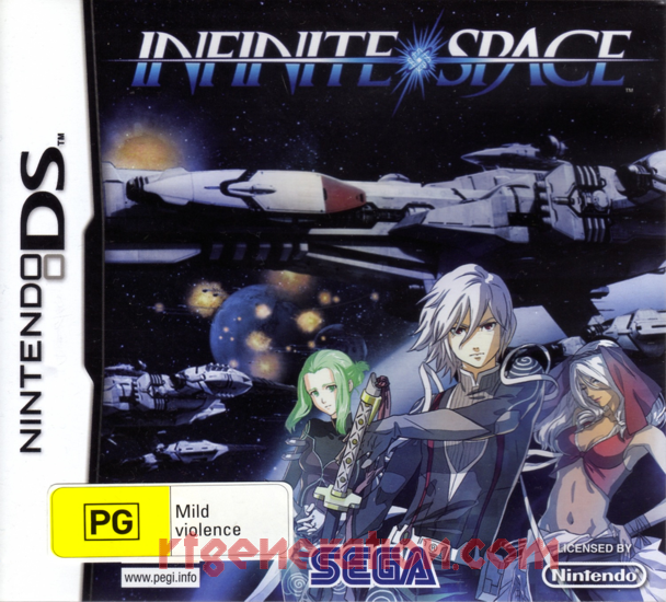 Infinite Space Box Front