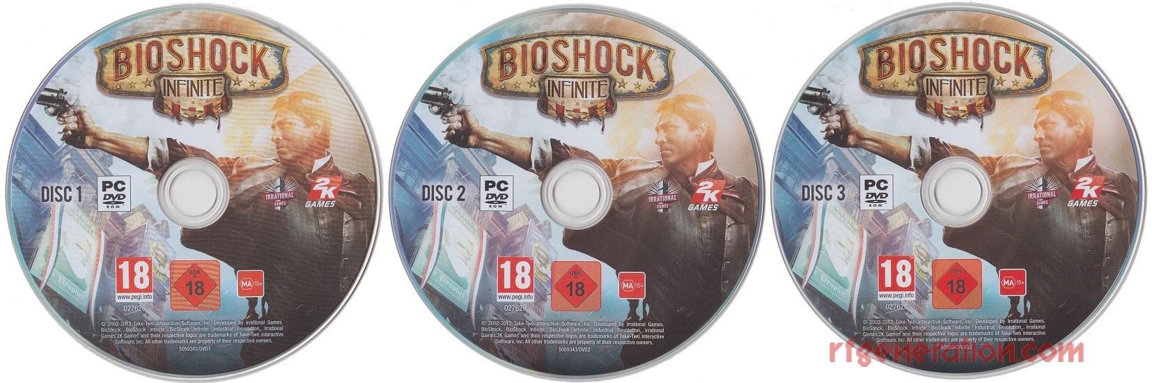 Bioshock Infinite <sup>[Premium Edition]</sup> Game Scan
