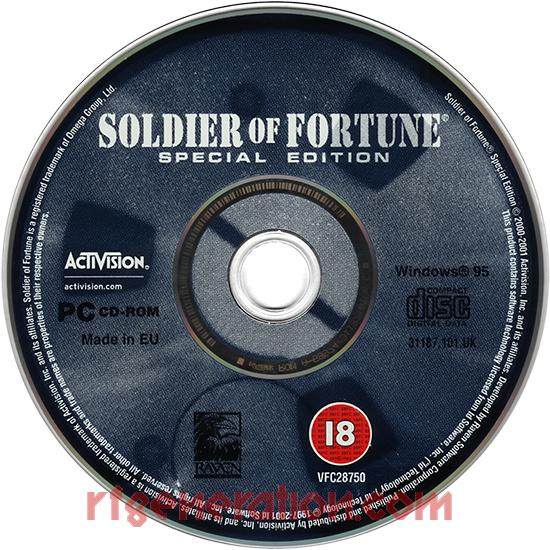 Soldier of Fortune <sup>[Special Edition]</sup> Game Scan