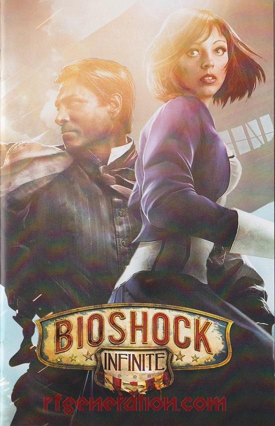 Bioshock Infinite <sup>[Premium Edition]</sup> Manual Scan