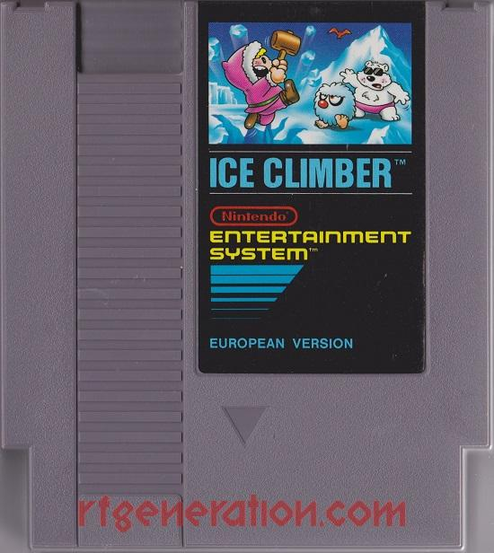 Ice Climber <sup>[3 Screw]</sup> Game Scan