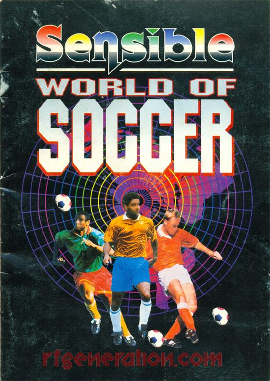 Sensible World of Soccer Manual Scan