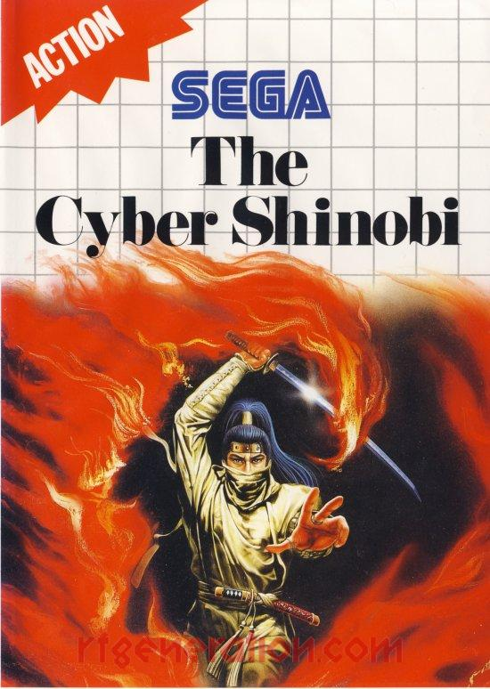 Cyber Shinobi, The <sup>[6 Languages]</sup> Box Front