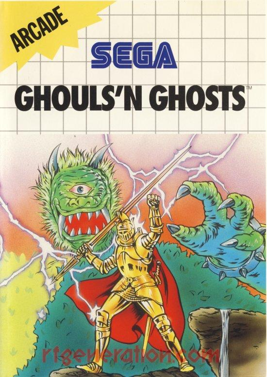 Ghouls'n Ghosts <sup>[6 Languages]</sup> Box Front