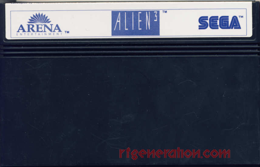 Alien³ Game Scan