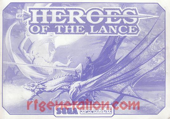 Heroes of the Lance Manual Scan