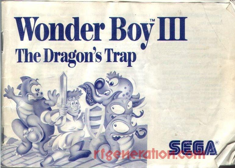 Wonder Boy III: The Dragon's Trap <sup>[With ®]</sup> Manual Scan