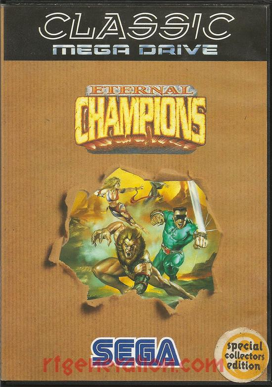 Eternal Champions <sup>[Classic Mega Drive]</sup> Box Front