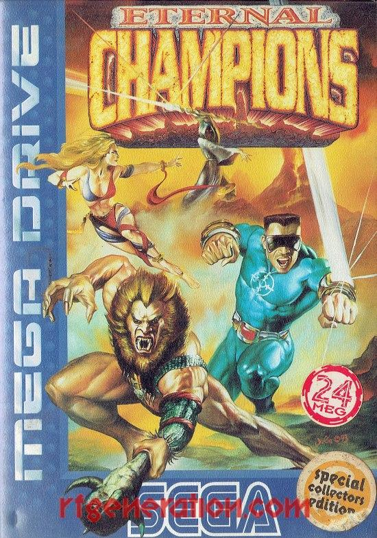Eternal Champions <sup>[Special Collectors Edition]</sup> Box Front
