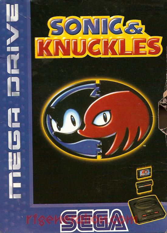 Sonic & Knuckles <sup>[4 Languages]</sup> Box Front
