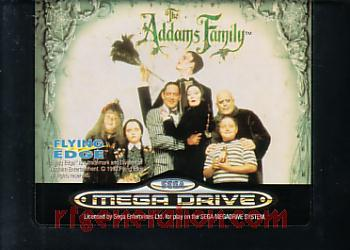Addams Family, The Game Scan