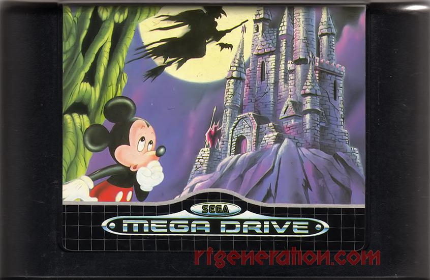 Castle of Illusion starring Mickey Mouse Game Scan