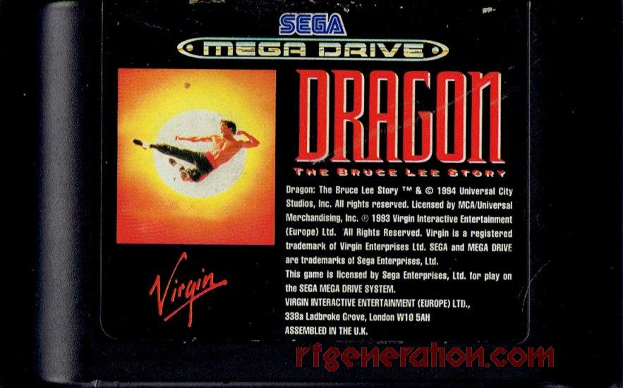 Dragon: The Bruce Lee Story Game Scan