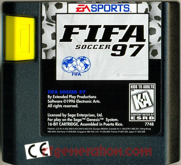 FIFA 97 Game Scan