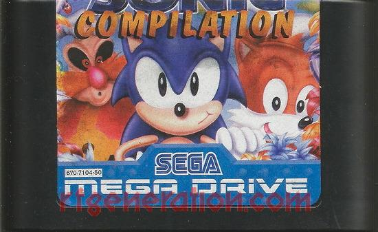 Sonic Compilation <sup>[Cartridge: Made in Phillipines]</sup> Game Scan