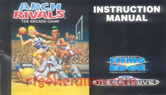 Arch Rivals Manual Scan